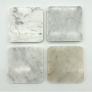 Other - Set of 4 Marble Coasters